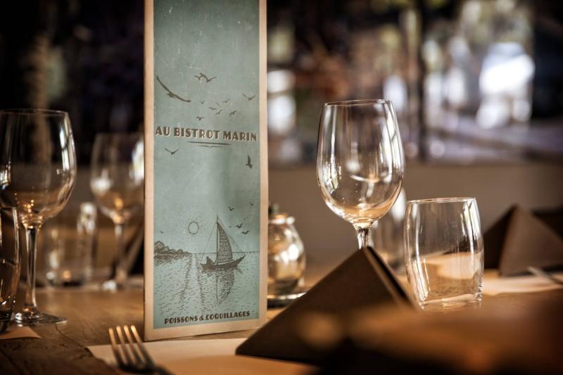 Le Restaurant - Au Bistrot Marin - Maussane Les Alpilles